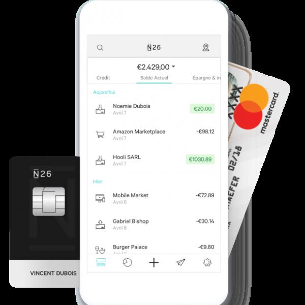 Ouverture d'un compte bancaire N26